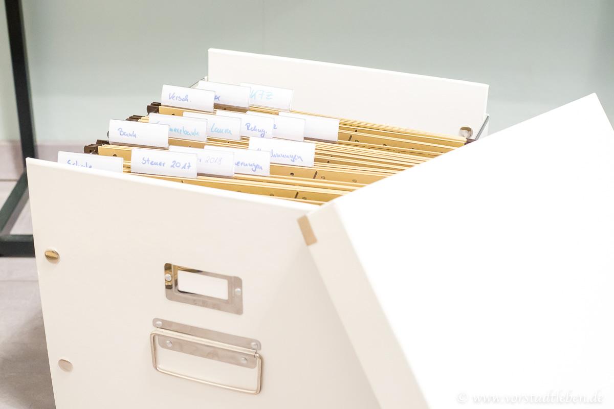 Ordnung private Ablage leitz ablagebox