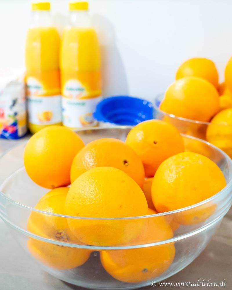 Einkochen Orangen Kurkuma Marmelade