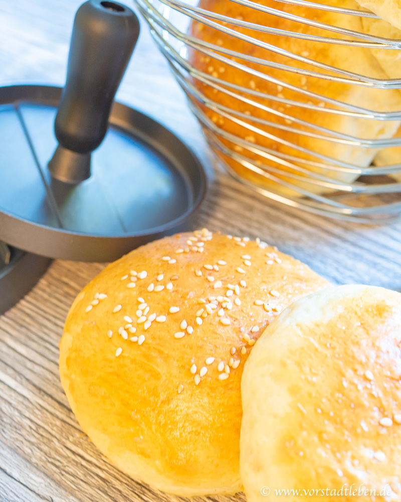 Beste Burger Buns Rezept Best Burger in town