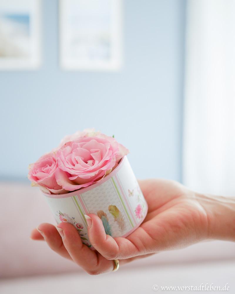 Blumenbox Flowerbox mini selbermachen