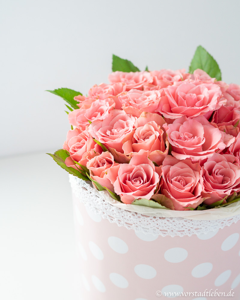 DIY Flowerbox selber machen Geschenkidee muttertag