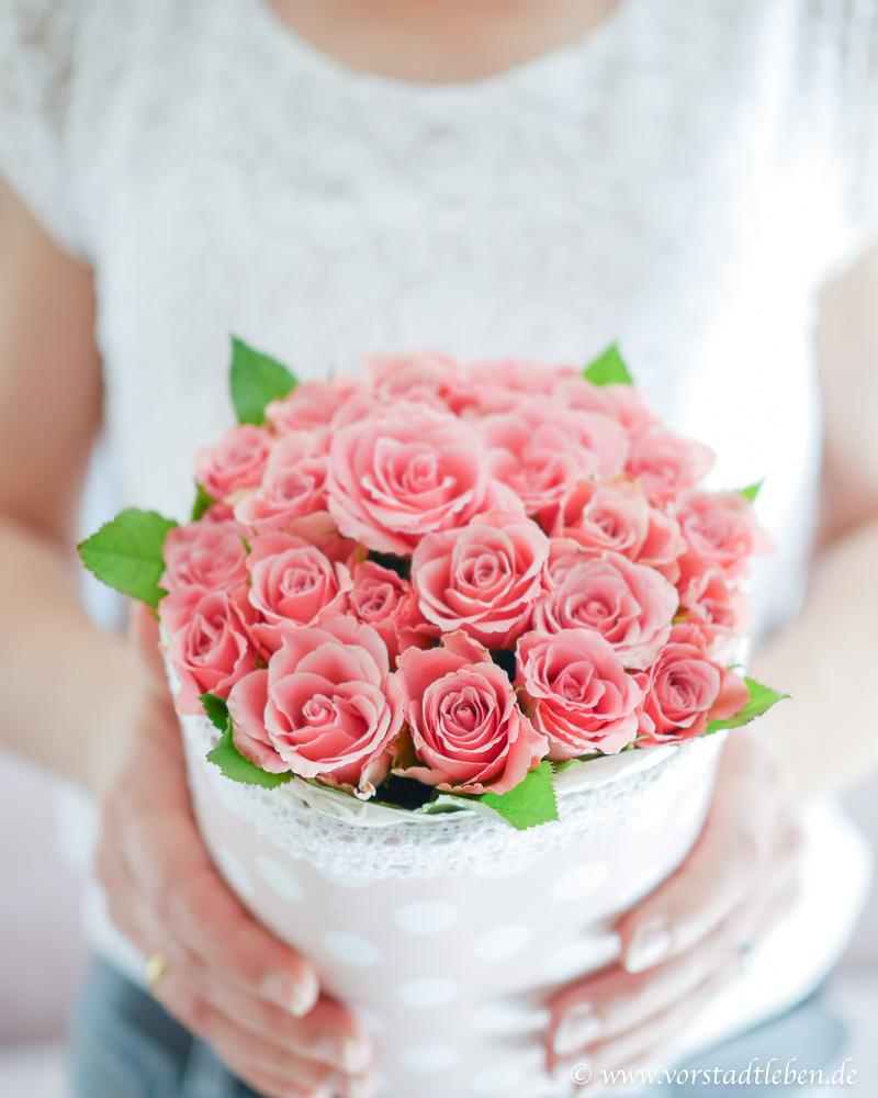 Flowerbox DIY Muttertag geburtstag valentinstag