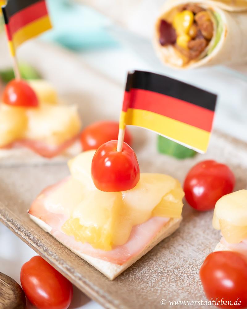 Fingerfood Halbzeitsnack OTTO WM Zeitreise 50er