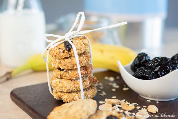 Hafercookies Rezept Haferkekse gesunder Snack
