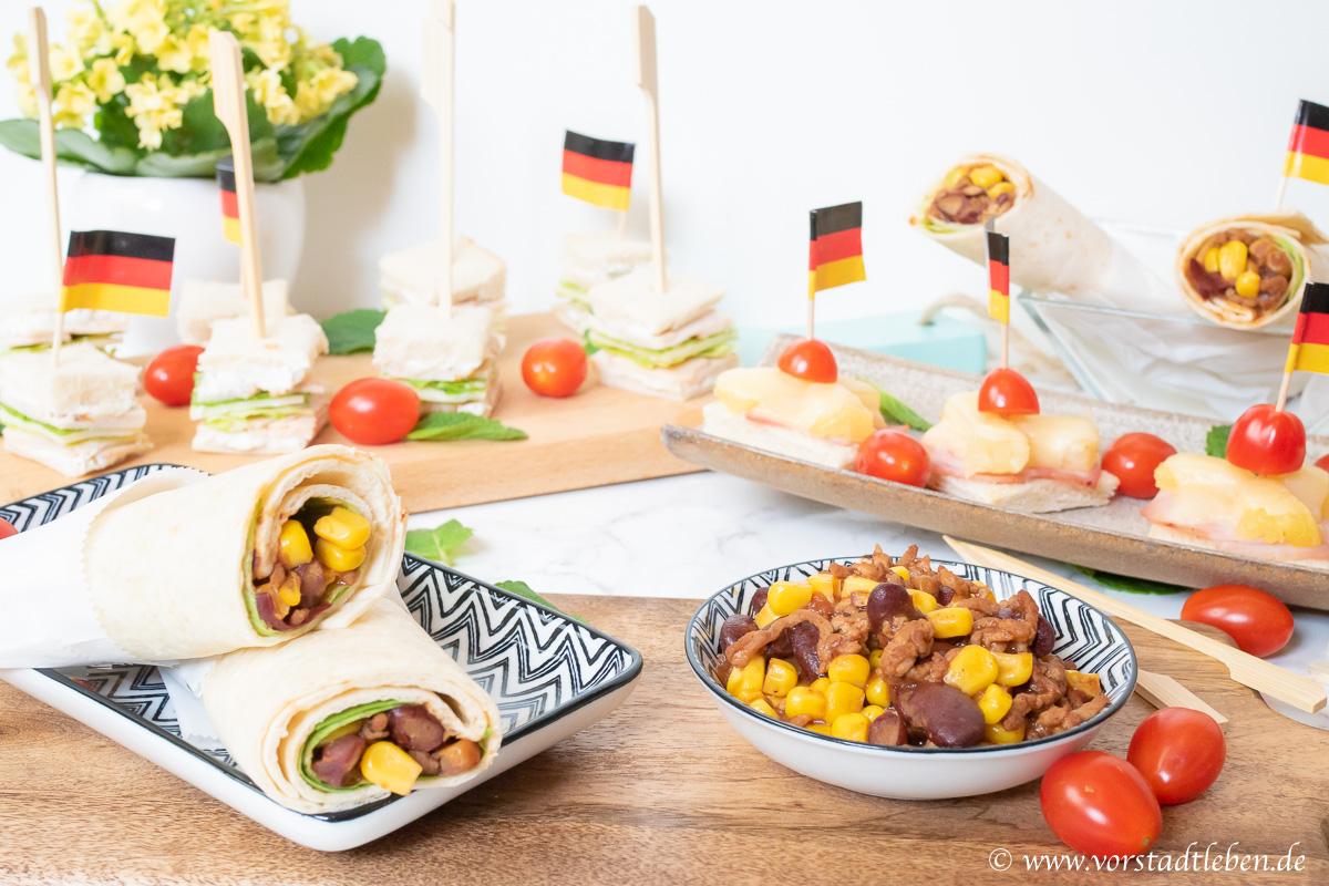 Halbzeitbuffet Halbzeitsnacks OTTO WM Zeitreise