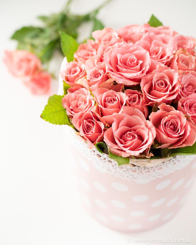 Muttertag geschenkidee diy Blumenbox