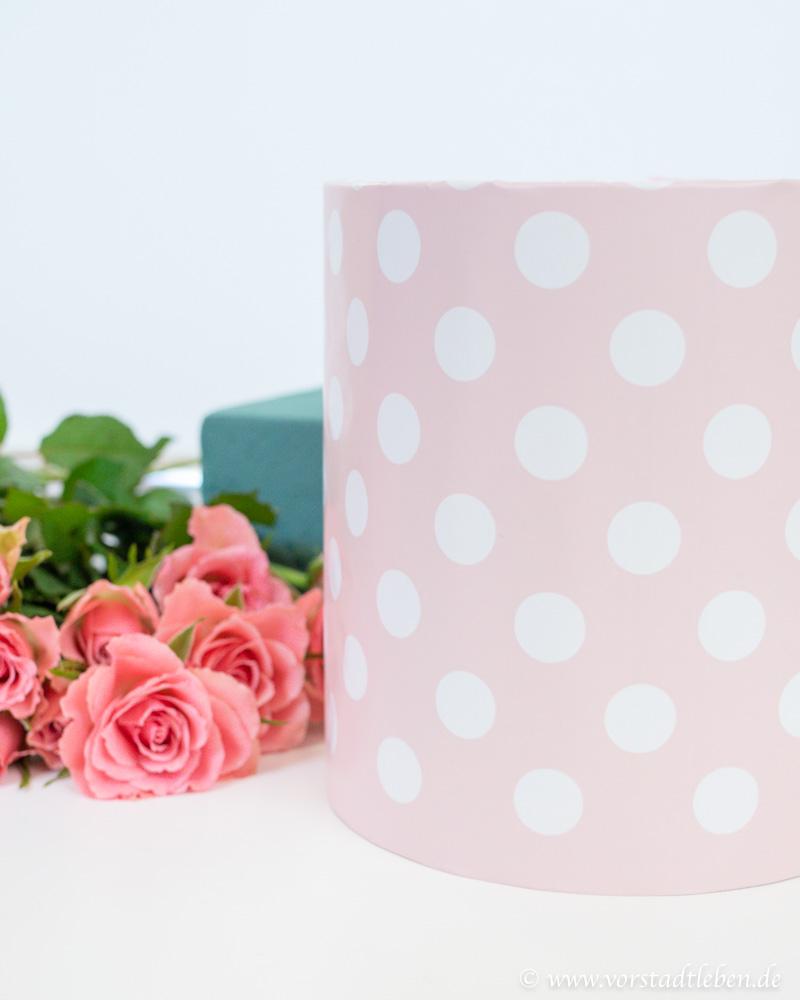 flowerbox DIY Anleitung Karton