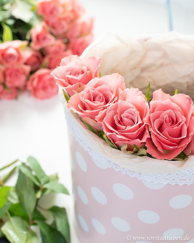 flowerbox selbermachen DIY Anleitung Muttertag