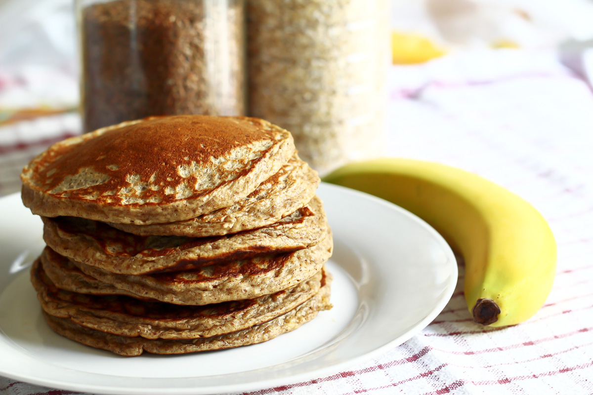 healthy lifestyle pancakes vollkorn gesunde ernaehrung