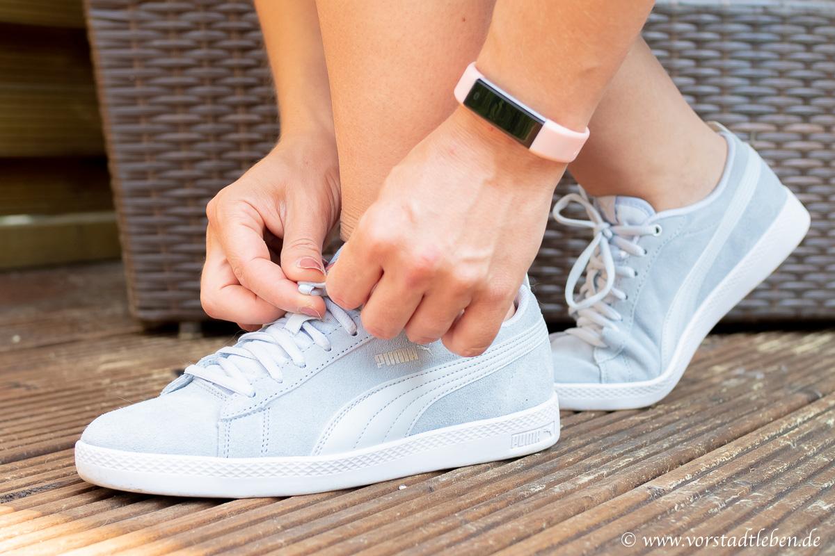 schrittziel erreichen bewegung im alltag schuhe puma sneaker