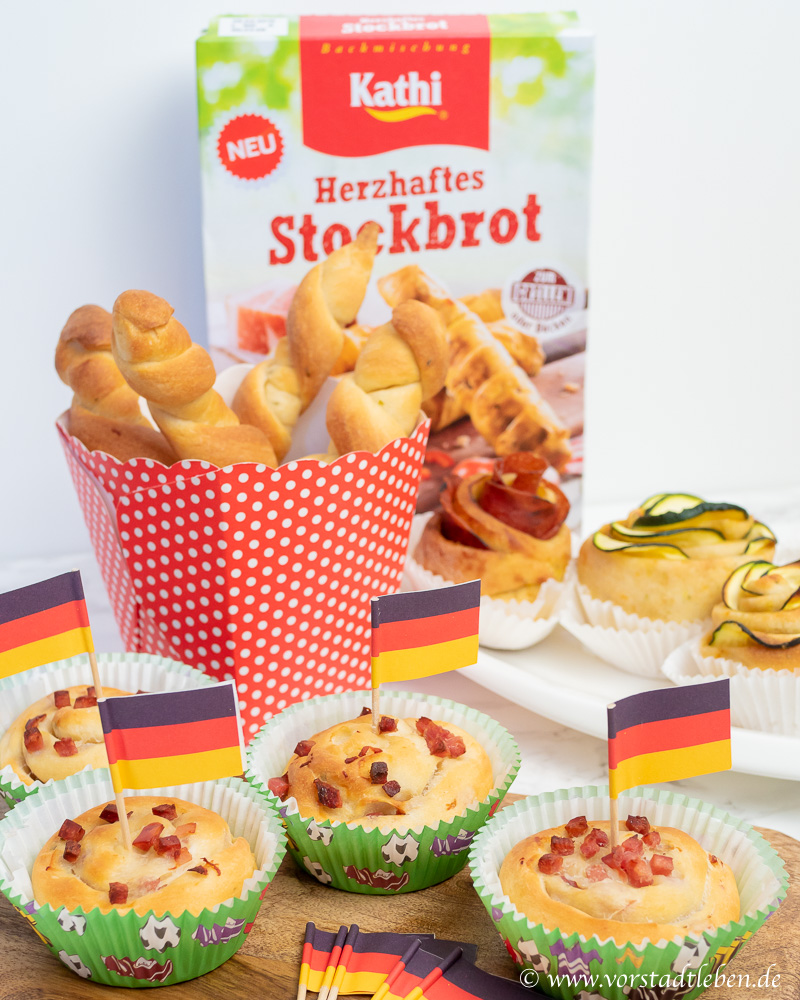 Fingerfood Stockbrot Rezepte meine Backbox Mai