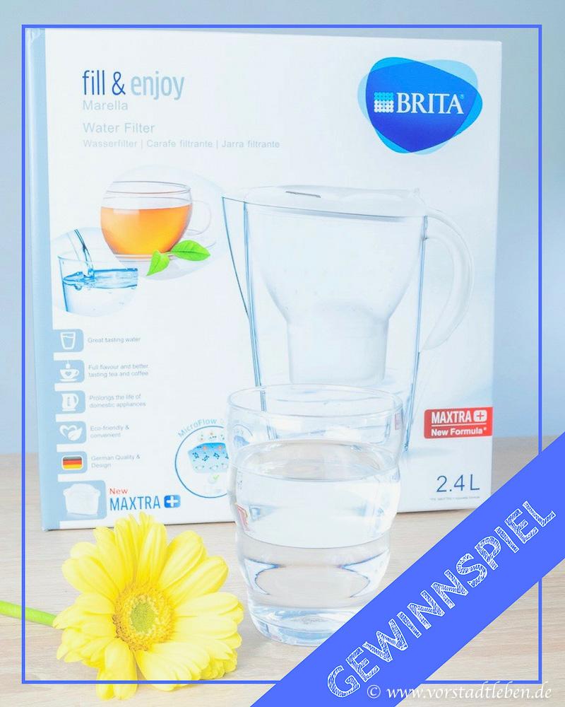 Gewinnspiel BRITA Tischwasserfilter