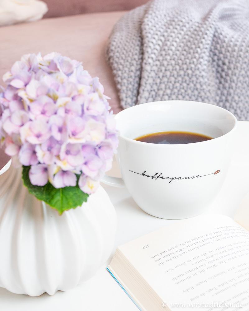 Kaffeepause sonntagsglueck wochenendpost kw25 Nichtstun