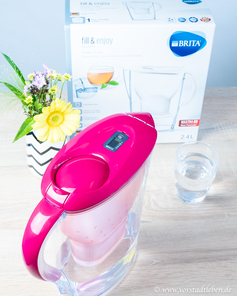 Marella BRITA Tischwasserfilter Wassergenuss