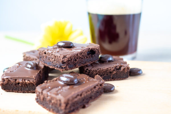 Saftige Brownies mit Kaffee Rezept