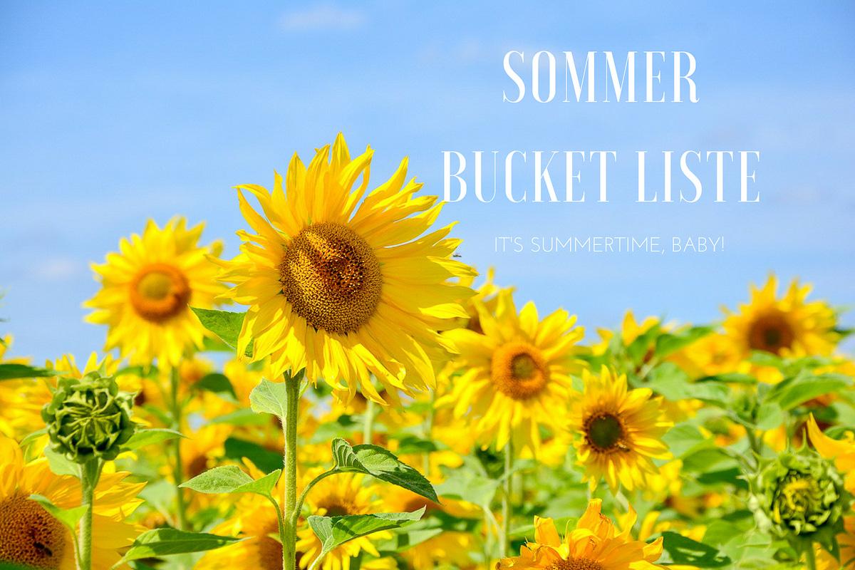 Sommer Bucket Liste Titelbild