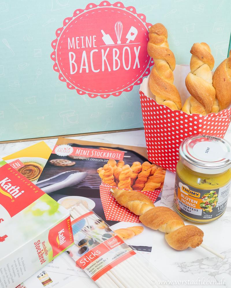 Stockbrot Meine Backbox Fingerfood Rezepte