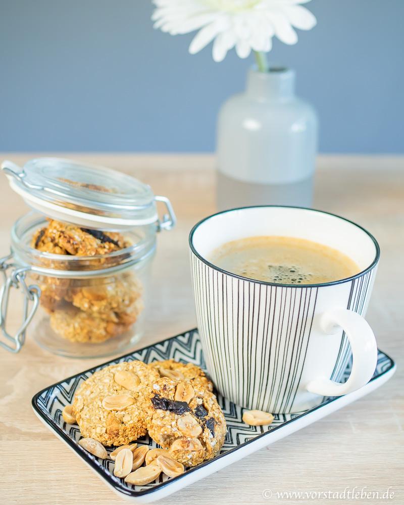 haferkekse rezept hafercookies gesund naschen