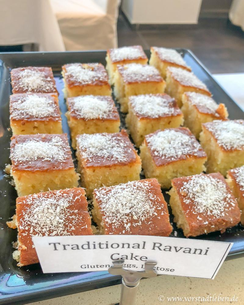 Ravani griechischer Kuchen