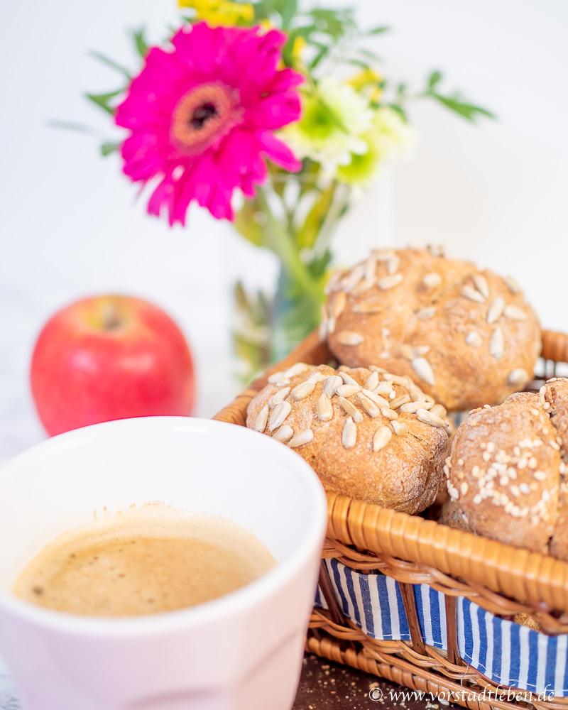Schnelle Quarkbroetchen Rezept Vorstadtleben Lifestyle Blog