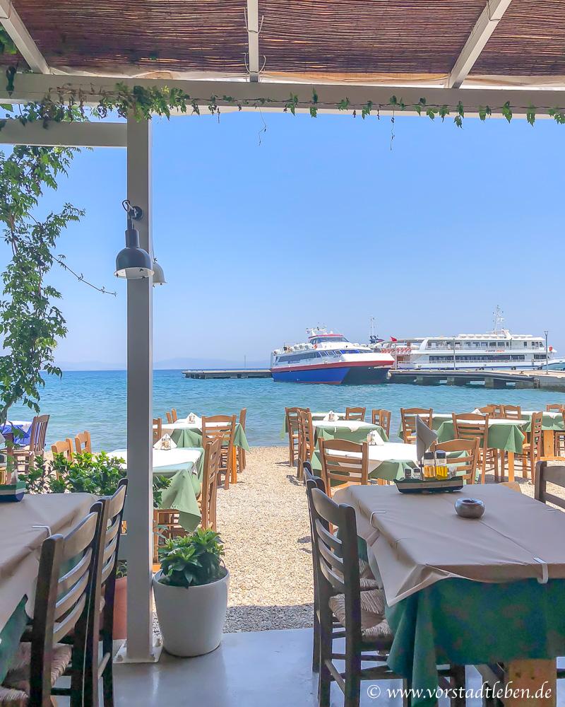 Taverne Kos Griechenland Urlaub Ravani Rezept