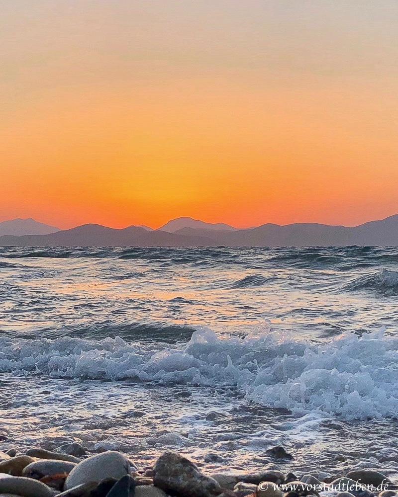 Urlaub auf Kos Hotel Astir Odysseus Sonnenuntergang Meer