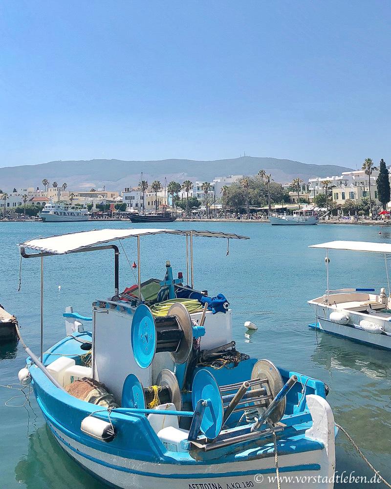 Urlaub auf Kos Hafen Kos Stadt