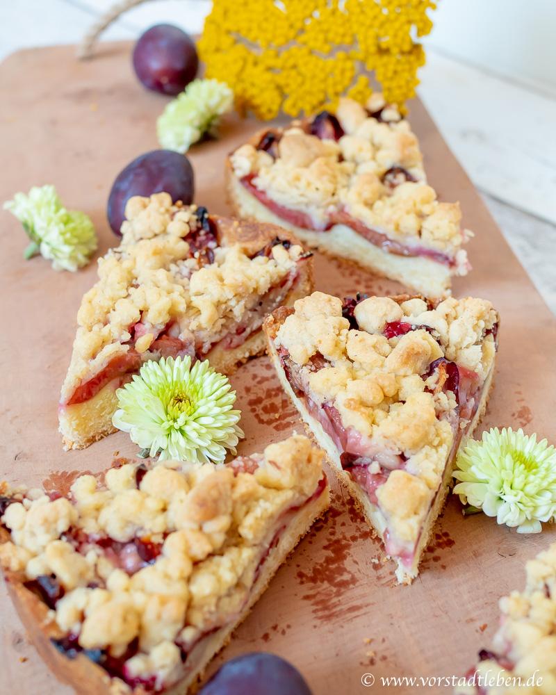 veganer obstkuchen veganer zwetschgenkuchen