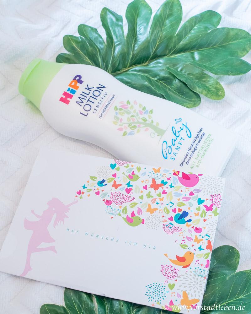 HiPP Babysanft Milk Lotion ausprobieren