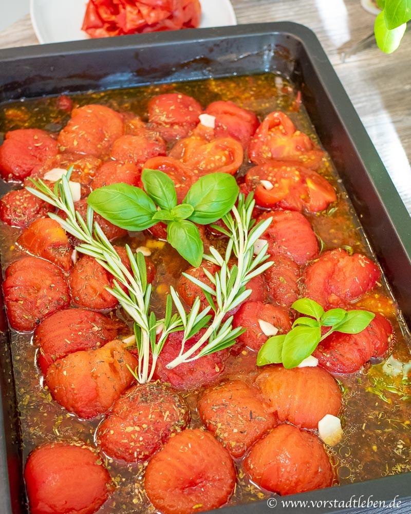 Ofentomatensauce tomaten backofen kraeuter