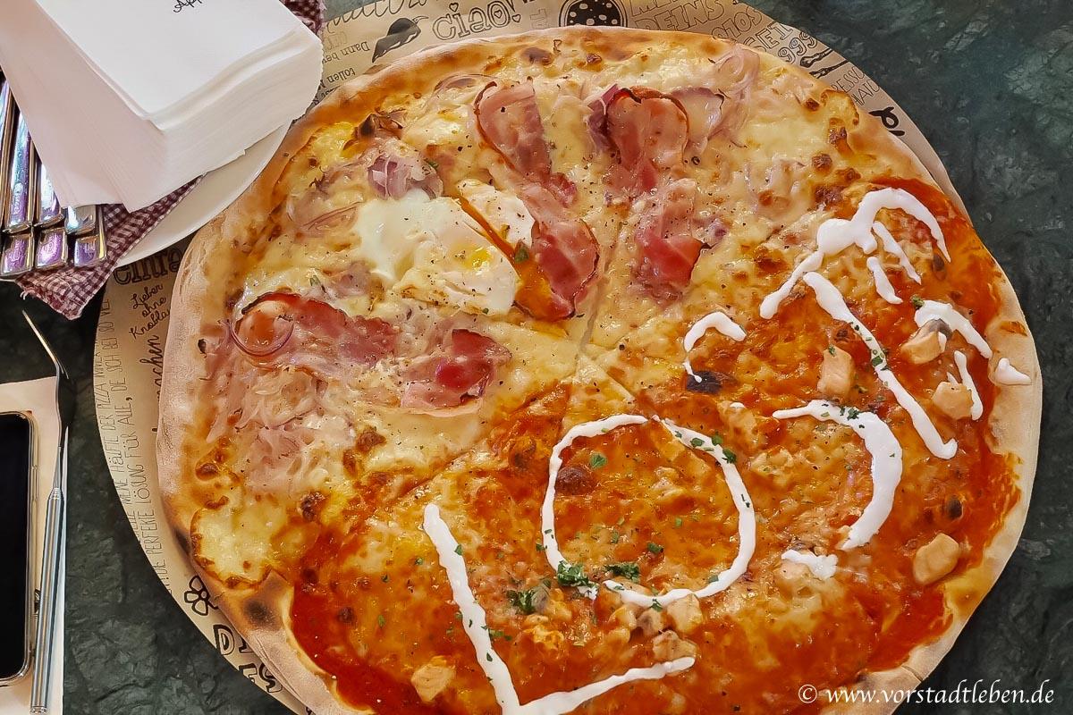 L'Osteria 45 cm pizza 2 Personen