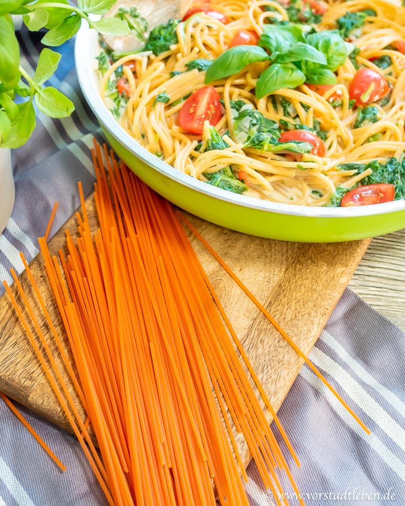 rote Linsennudeln linsenspaghetti pasta