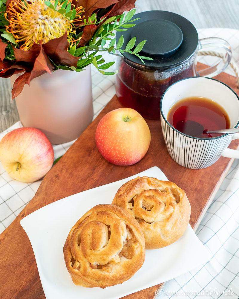 Apfel Zimt Schnecken Rezept