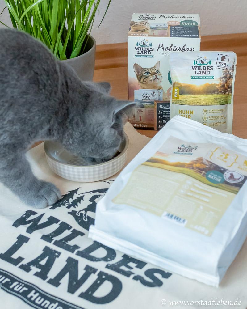 Katzenfutter Natur Pur Wildes Land