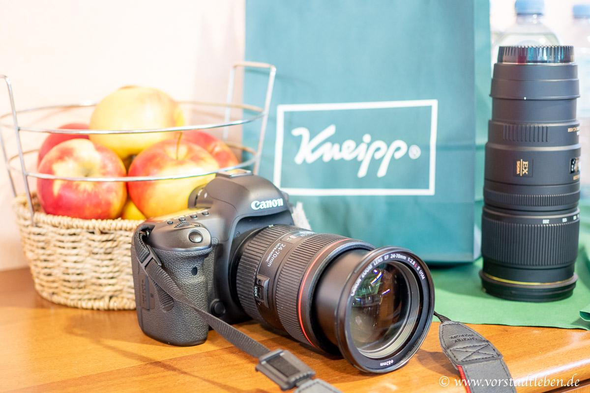 Kneipp Bloggerevent hinter den Kulissen