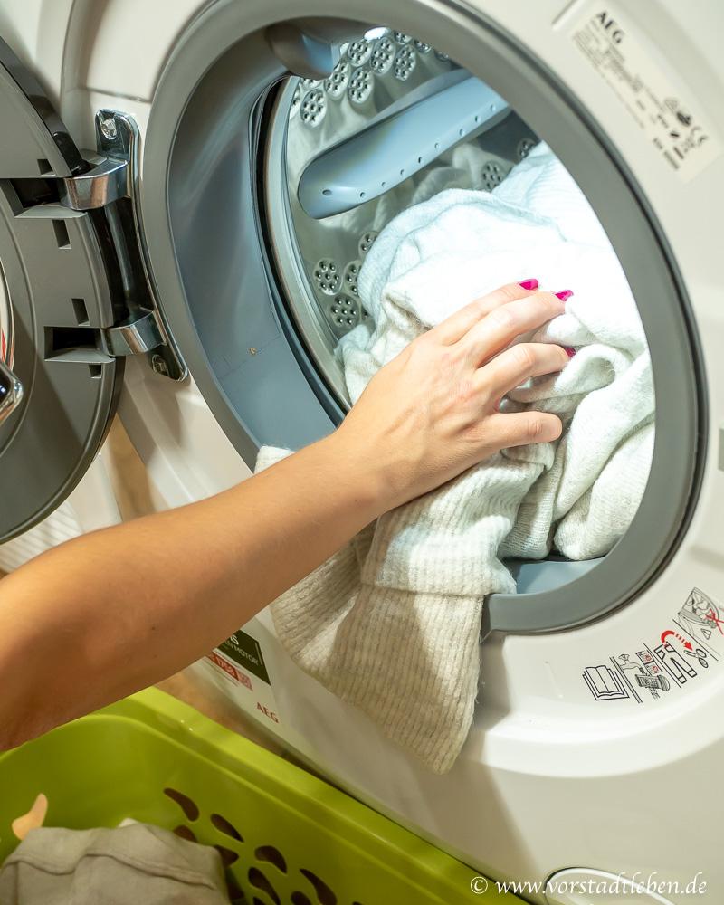 AEG Lavamat Series 7000 ProSteam Waschen