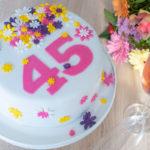 Blumentorte Cakerella selbstgebacken