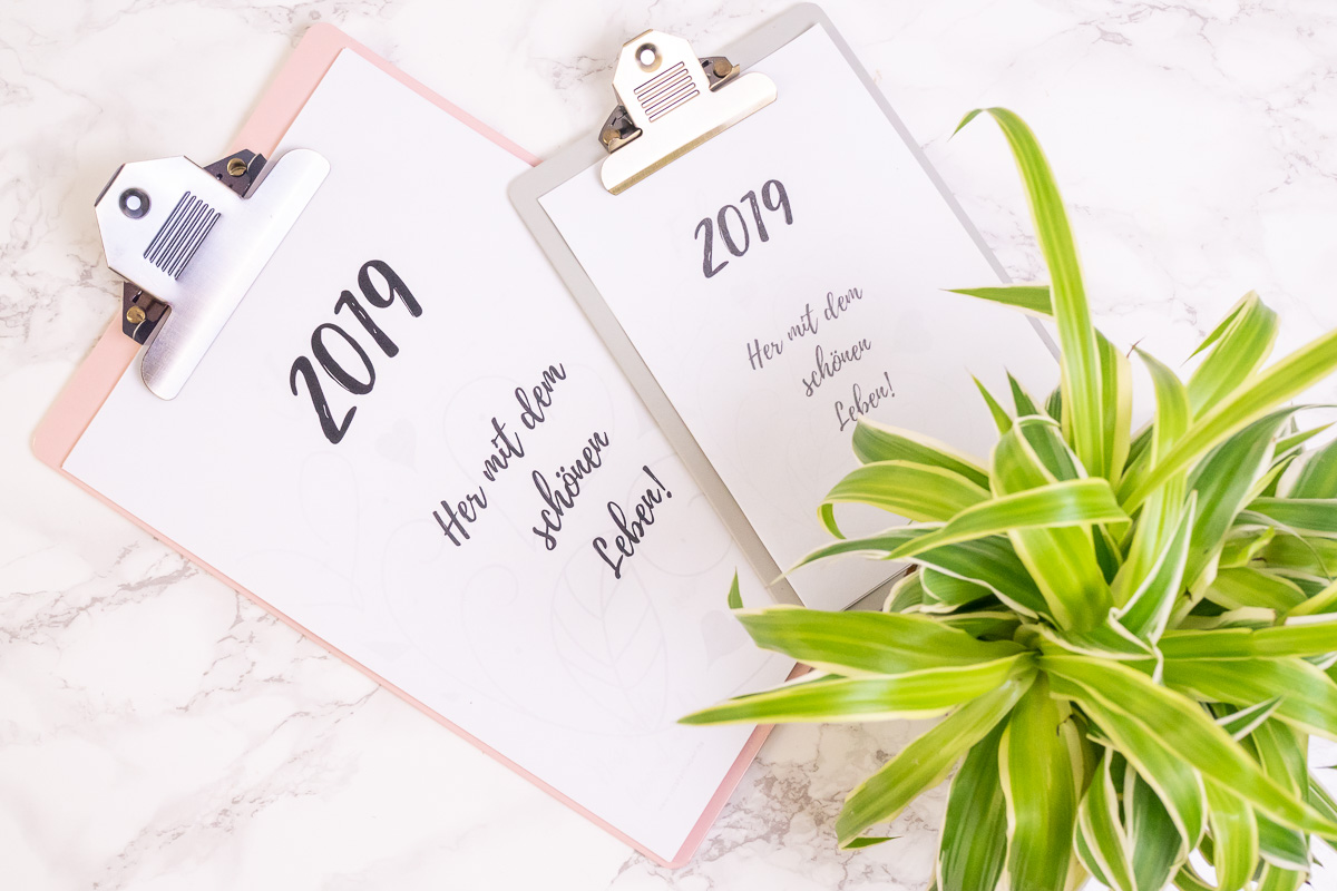 Kalender 2019 Freebie Download