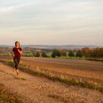 Laufen im Herbst Joggen