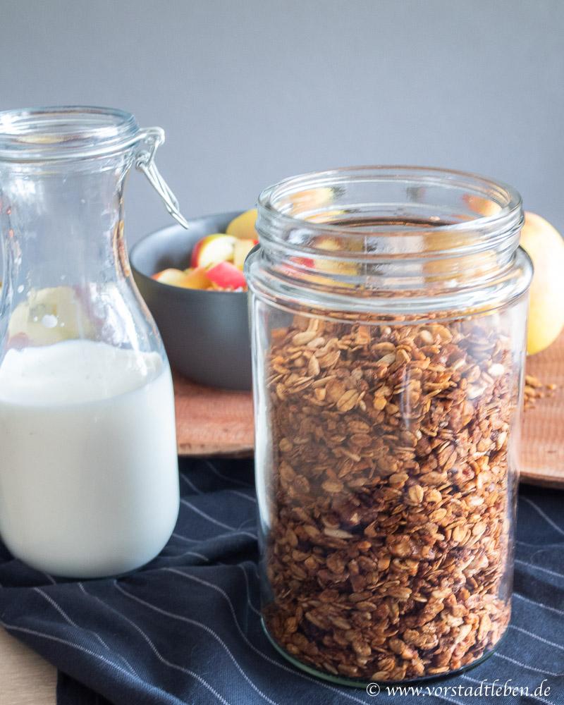Rezept Winter granola Kunspermuesli