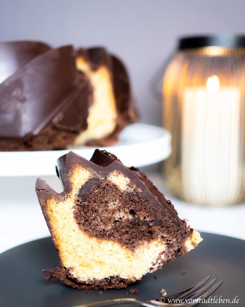 Ruehrkuchen Marmorkuchen Gugelhupf