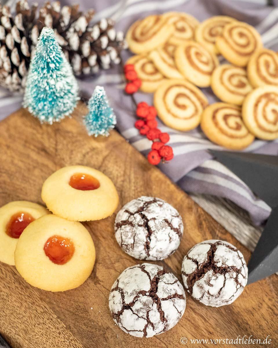 In der Weihnachtsbaeckerei Plaetzchenrezepte