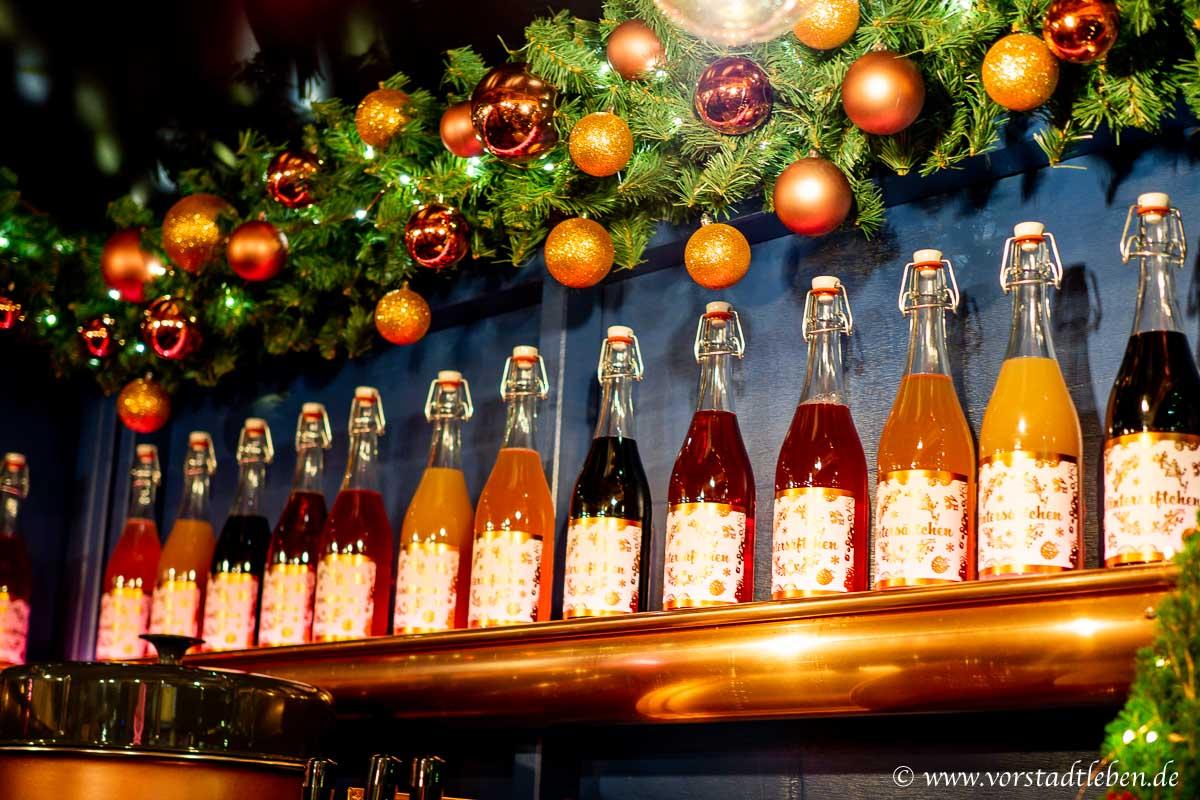 wintersaeftchen flaschen