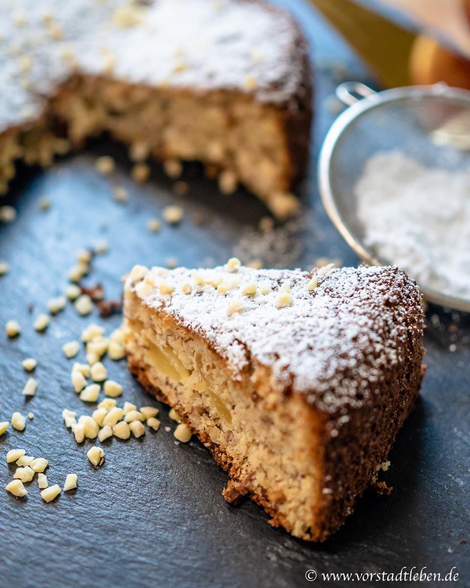 4 zutaten apfelkuchen ohne mehl und ohne butter