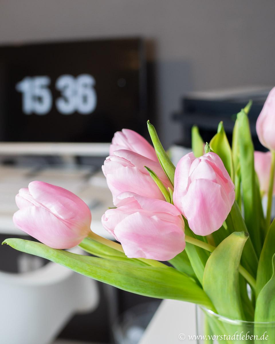 Arbeitszimmer Blumen