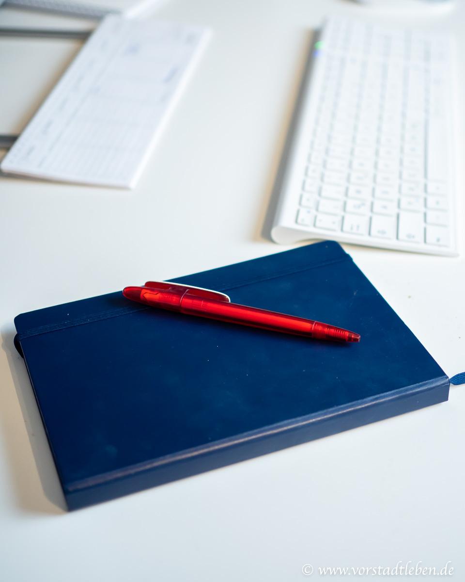 Ordnung am Arbeitsplatz Notizbuch OTTO Office