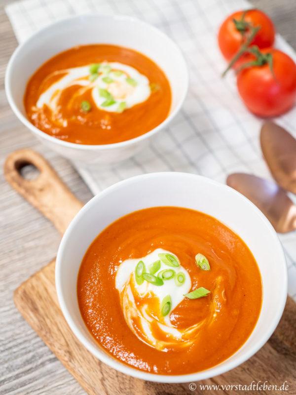 Rezept Tomaten Suppe cremig
