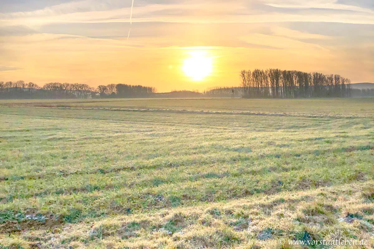 Sonnenaufgang Winter