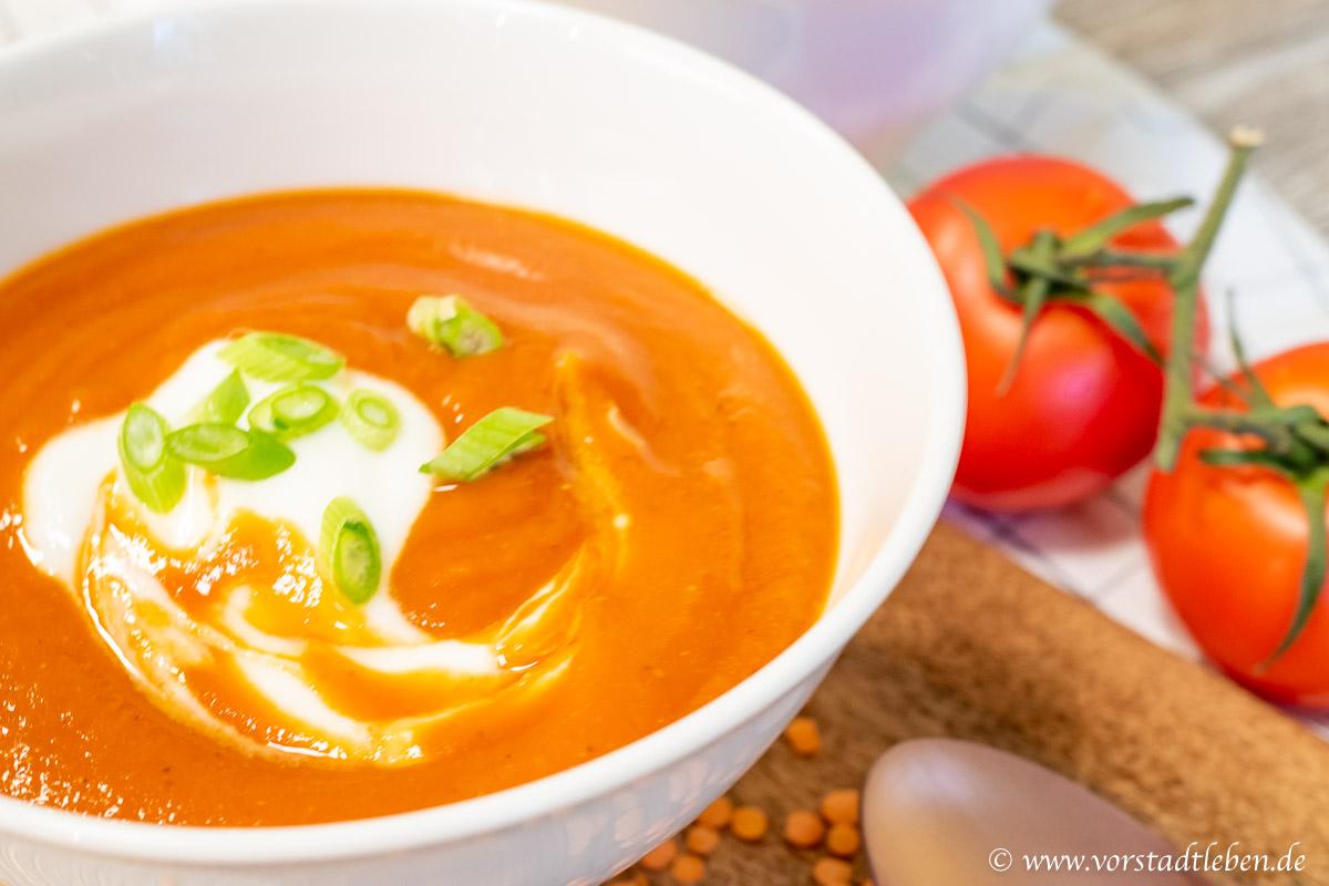 cremige suppe leicht schnelles suppenrezept