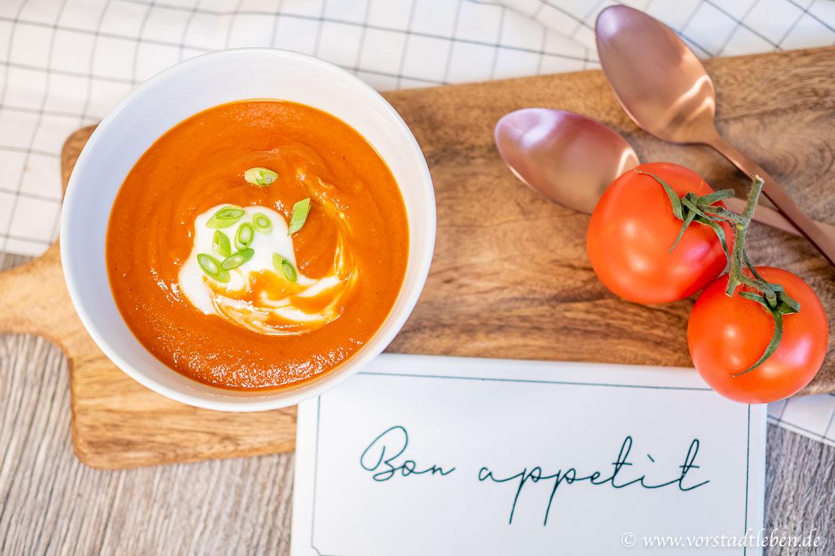 leichte tomatensuppe Suppe Winterzeit
